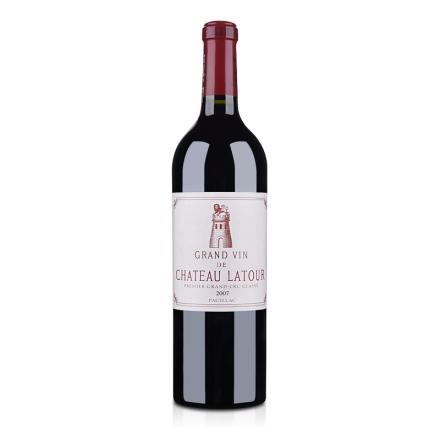 (列级庄·名庄正牌)法国拉图城堡2007干红葡萄酒750ml