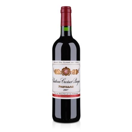(列级庄·名庄正牌)法国歌碧酒庄2007干红葡萄酒750ml