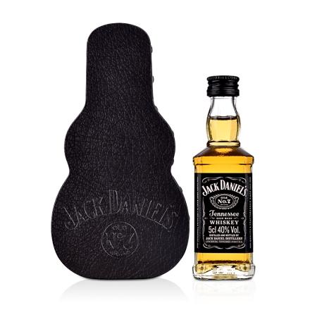 杰克丹尼田纳西州威士忌迷你吉他礼盒50mL