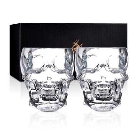骷髅酒杯双支礼盒(乐享)