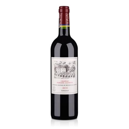 (名庄)法国拉菲凯萨天堂古堡波尔多法定产区红葡萄酒750ml
