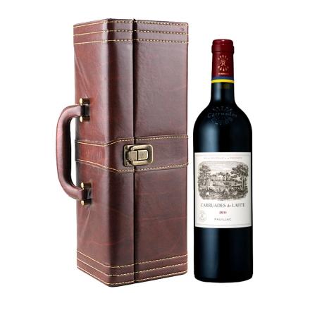 法国拉菲酒庄2011副牌干红葡萄酒750ml(单支皮盒)(又译:小拉菲)