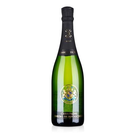 【红酒特卖】法国拉菲集团罗斯柴尔德天然香槟750ml