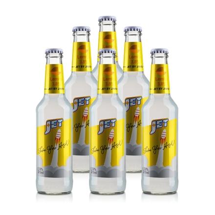 3.8°杰特朗姆预调酒柠檬味275ml(6瓶装)