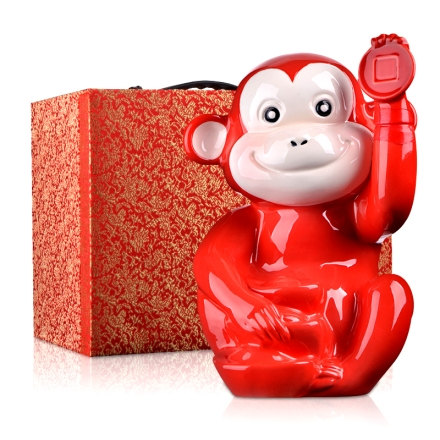 【清仓】52°猴年生肖俏皮猴招财进宝3000ml