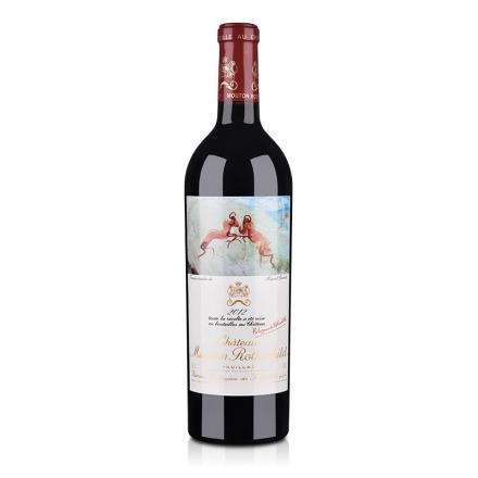 (列级庄·名庄·正牌)木桐酒庄2012干红葡萄酒750ml
