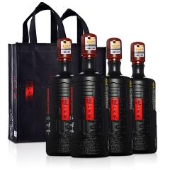 【酒仙独家】52°泸州老窖三人炫1000ml(4瓶装)+手提袋*2