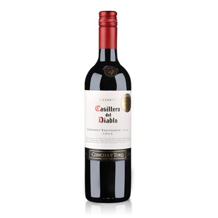 智利干露红魔鬼卡本妮苏维翁红葡萄酒750ml(又名:智利干露红魔鬼赤霞珠红葡萄酒750ml)