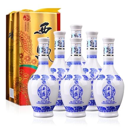 52°西凤御藏酒(黄西凤)500ml(6瓶装)