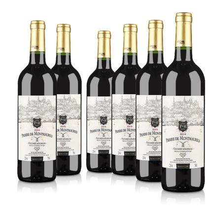 【超级单品日】法国原瓶进口莫蕾尔干红葡萄酒750ml(6瓶装)