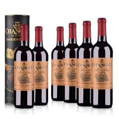 张裕优选级干红葡萄酒750ml(6瓶装)