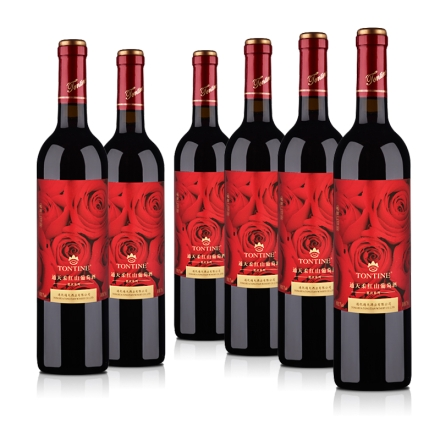 7°通天柔红山葡萄甜酒750ml(6瓶装)