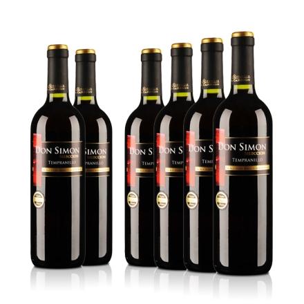 西班牙当西蒙精选干红葡萄酒750ml(6瓶装)