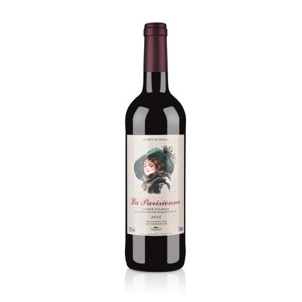 法国巴黎丽人干红葡萄酒