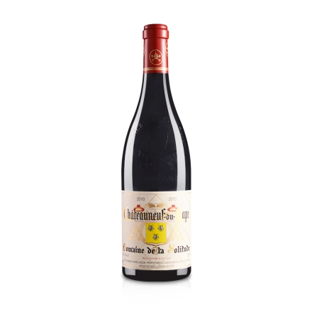 【清仓】法国原瓶进口拉索莉德酒庄教皇新堡干红葡萄酒750ml
