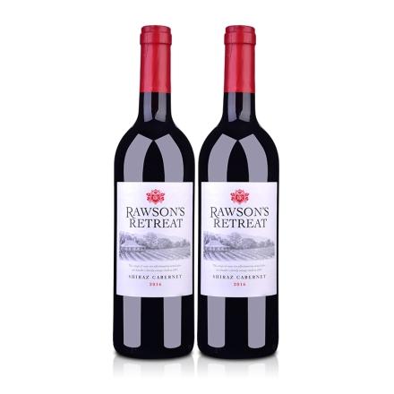 澳大利亚奔富洛神山庄设拉子赤霞珠红葡萄酒750ml(双瓶装)