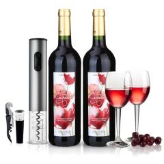 法国进口红酒 虞美人干红葡萄酒750ml 两瓶装