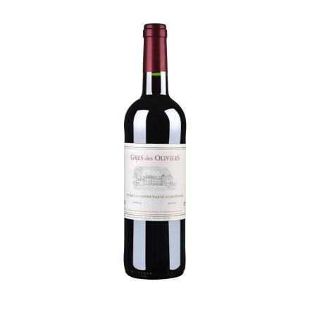 法国原瓶进口葛雷奥利干红葡萄酒750ml