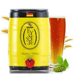 德国进口啤酒坦克伯爵小麦白啤酒5L桶装