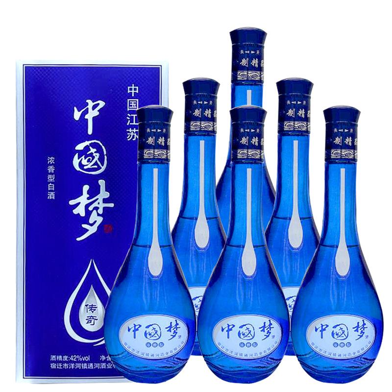 42°中国梦传奇白酒500ml(6瓶装)